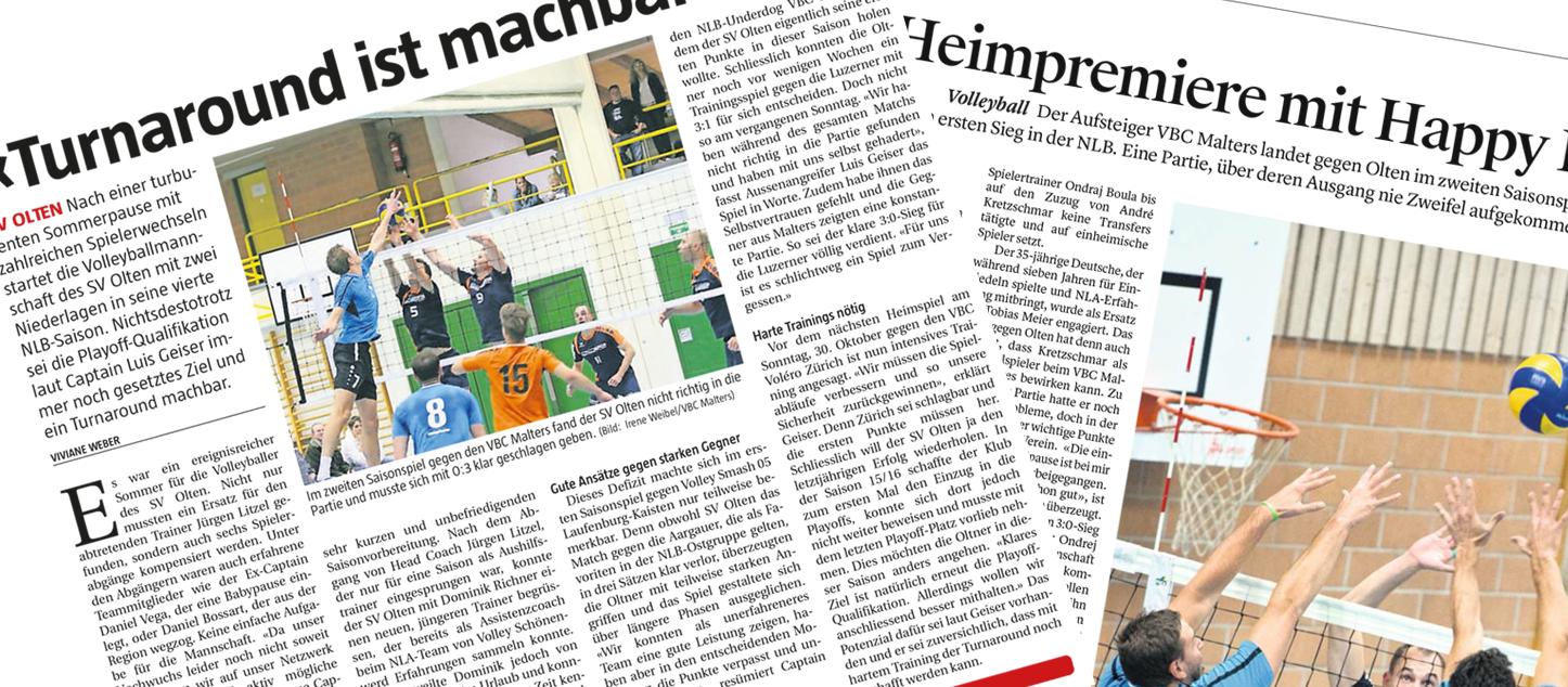Presseschau: Erstes NLB-Heimspiel