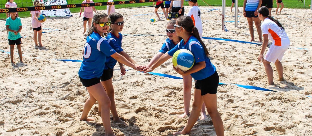 Schüler-Beachvolleyball-Turnier 2021